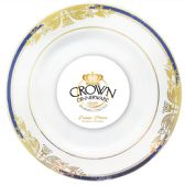 12 Units of CROWN DINNERWARE DINNER PLATE10 INCH 8 PACK RENAISSANCE COLLECTION - Dinnerware > Plates