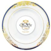 12 Units of CROWN DINNERWARE DESSERT PLATE 7 INCH 8 PACK RENAISSANCE COLLECTION - Dinnerware > Plates
