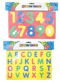 36 Units of LETTER AND NUMBER PUZZLE FOAM ASSORTED - PUZZLES