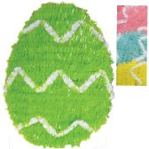 24 Units of EASTER EGG DECORATION 12 INCH TINSEL ASSORTED COLORS