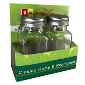 32 Units of SIMPLY FOR HOME SALT/PEPPER GL - Store
