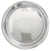 24 Units of ROUND SERVING TRAY 16 SILVER - Store