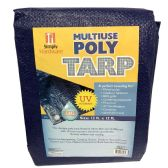 12 Units of SIMPLY HARDWARE POLY TARP 12LX - Store