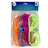 48 Units of PARTY SOLUTIONS PARTY GLASSES - Store