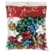 32 Units of HOLIDAY STYLE® STAR BOWS PEEL' - Store