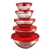 16 Units of SIMPLY KITCHENWARE GLASS BOWLS - Store