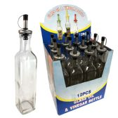 48 Units of SIMPLY FOR HOME GLASS OIL/VINE - Store