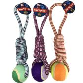 36 Units of Tug Rope And Ball Pet Toy - Pet Toys