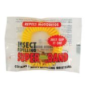 50 Units of SUPERBAND BUG REPELLENT WRIST BAND (50 UNIT COUNTER DISPLAY) - Pest Control