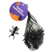 48 Units of HALLOWEEN PLASTIC INSECTS 12 P - Halloween & Thanksgiving