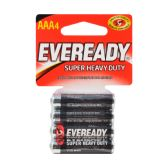 24 Units of EVEREADY AAA BATTERIES 4 PK SU - Store