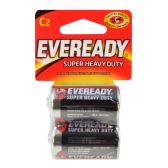 12 Units of EVEREADY C BATTERIES 2 PK SUPE - Store
