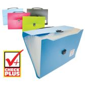 12 Units of CHECK PLUS FILE HOLDER 13 POCK - Folders & Portfolios