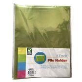 36 Units of CHECK PLUS POLY FILE HOLDER 4 - Folders & Portfolios