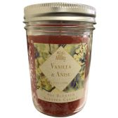 6 Units of MASON JAR SCENTED CANDLE 5.5 O - Candles & Accessories