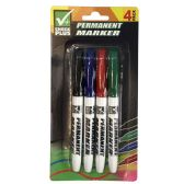 36 Units of CHECK PLUS PERMANENT MARKERS 4 - Markers and Highlighters