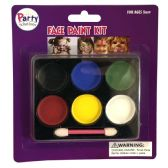 36 Units of PARTY SOLUTIONS FACE PAINT KIT - Costumes & Accessories