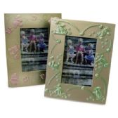 24 Units of PLASTIC PICTURE FRAME 3 X 4 INCH 2 ASSORTED DESIGNS PREPRICED $1.00 - Picture Frames