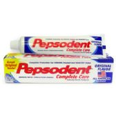 24 Units of PEPSODENT TOOTHPASTE 5.5 OZ ORIGINAL COMPLETE CARE MADE IN USA - Health / Beauty