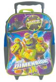 6 Units of ROLLING BACKPACK 16 NINJA TURTLES