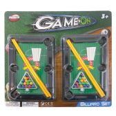 36 Units of BILLIARD PLAY SET 7.25X5 INCHES