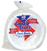 30 Units of GOOD TIME FOAM BOWL 10 COUNT 30 OZ