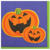 24 Units of LUNCHEON NAPKINS 30 COUNT 2-PLY HALLOWEEN - Halloween & Thanksgiving