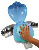 6 Units of HAND SHELL HOME MANICURE WITH 3 COMPARTMENTS AS SEEN ON TV - Manicure and Pedicure Items