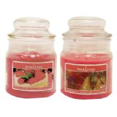 12 Units of CANDLE 3 OUNCE ASSORTED DARK PINK MADE IN USA