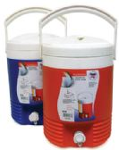 6 Units of INSULATED JUG 2.30 GALLON ASSORTED COLORS - Cooler & Lunch Bags