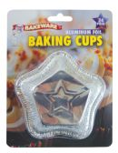 48 Units of FOIL BAKING CUP 24 COUNT STAR SHAPE