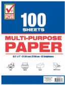 48 Units of MULTI-PURPOSE PAPER 100 SHEETS 11 X 8.5 INCH - PAPER