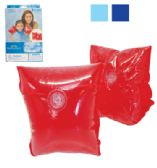 43 Units of SWIM ARM BANDS 9 X 6 INCH AGES 4+ UP TO 66 LBS ASSORTED COLORS PREPRICED $2.99 - AUTO CLEANING SUPPLIES