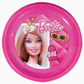 48 Units of BARBIE PLASTIC PLATE 8.50 IN DISPLAY - Party Paper Goods