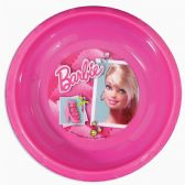 48 Units of BARBIE PLASTIC BOWL 8 OUNCE IN DISPLAY - Plastic Bowls and Plates