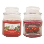 12 Units of CANDLE 3 OUNCE ASSORTED RED MADE IN USA