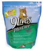 6 Units of 9 LIVES DRY CAT FOOD 18 OZ PLUS CARE TUNA AND EGG - Pet Toys