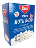 24 Units of ENOZ PARA MOTH BALLS 4 OZ MADE IN USA - Home Goods