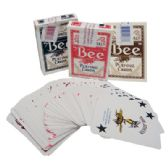 36 Units of BEE CASINO PLAYED PLAYING CARDS COLORS MAY VARY