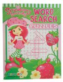 72 Units of STRAWBERRY SHORTCAKE PUZZLE BOOK 96 PGS MADE IN THE USA - Crosswords, Dictionaries, Puzzle books