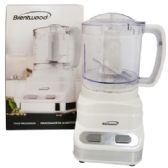 12 Units of BRENTWOOD FOOD PROCESSOR 3 CUP 2 SPEED WHITE CUL LISTED