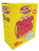 36 Units of EZ DUZZIT SCOURING STEEL WOOL SOAP PADS 10 PACK