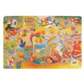 48 Units of CHILDREN'S ACTIVITY PLACEMAT 12 X 17 INCH DRY ERASE SUMMER DESIGN - Placemats
