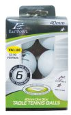 70 Units of TABLE TENNIS BALLS 40MM 6PK EAST POINT- ONE STAR TOURNAMENT SIZE PRE PRICED $3.99 - Balloons/Balloon Holder