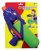 30 Units of WATER GUN 11.5 INCH SHOOTS UP TO 10 FEET ASSORTED COLORS AGES 4+ PREPRICED $7.99