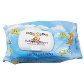 24 Units of BABY WIPE 80CT VIT-E AND ALOE VERA BLUE - Baby Beauty & Care Items