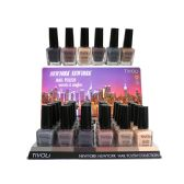 24 Units of TiVOLi NAIL POLISH 0.52 OZ 24 COUNT DISPLAY SHADES OF BROWN  - Nail Polish