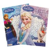 72 Units of DISNEY FROZEN WORD SEARCH PUZZLES 96 PG ASSORTED VOLUMES - Crosswords, Dictionaries, Puzzle books