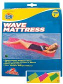 10 Units of WAVE MATTRESS 85.5 X 34.5 INCH ASSORTED COLORS AGES 14+ PREPRICED $7.99 - Summer Toys