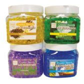 36 Units of CRYSTAL BEAD AIR FRESHENER 12 OZ JAR - Cleaning Products